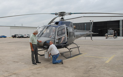 Pipeline Aerial Surveillance, Inspection and Testing.
