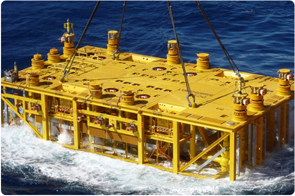 Subsea production manifold system, commercial equipment engineering.