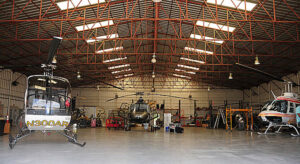 Helicopter Services, Inc Helicopter Hanger.